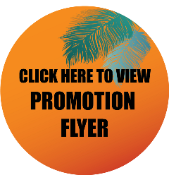 circle promo flyer button